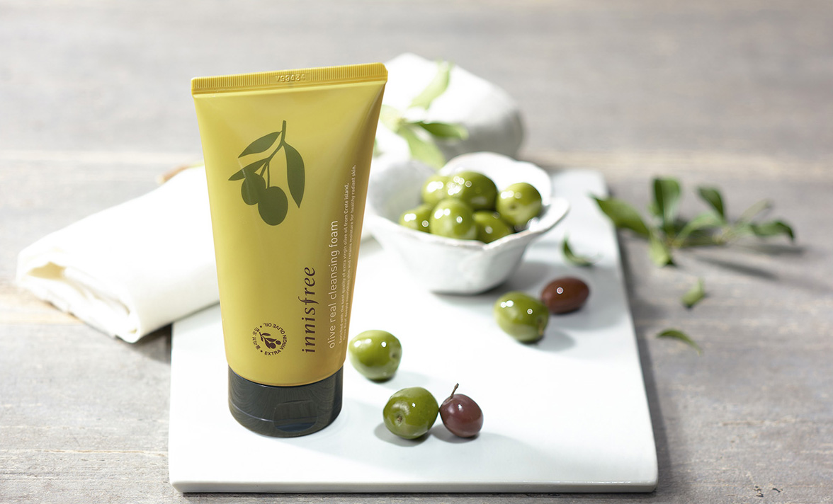 olive_real_cleansing_foam