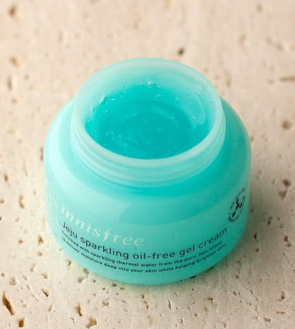 innisfree Jeju sparkling oil-free gel cream-3