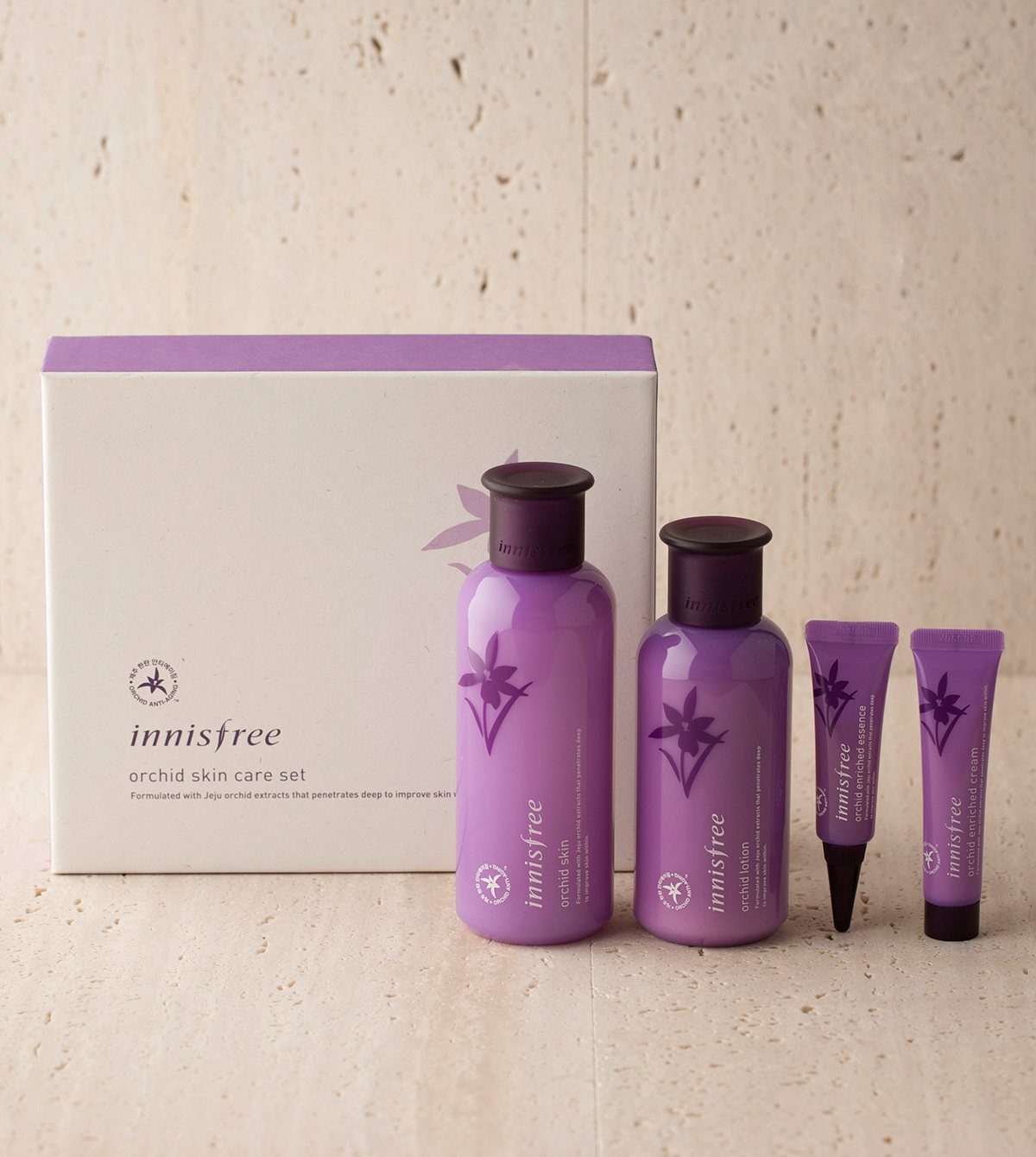 innisfree orchid skin care set