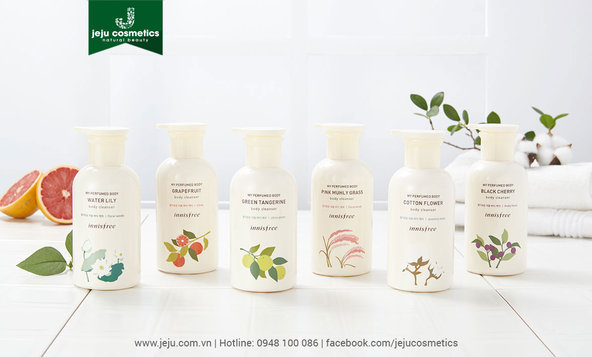 Innisfree My Perfumed Body Cleanser