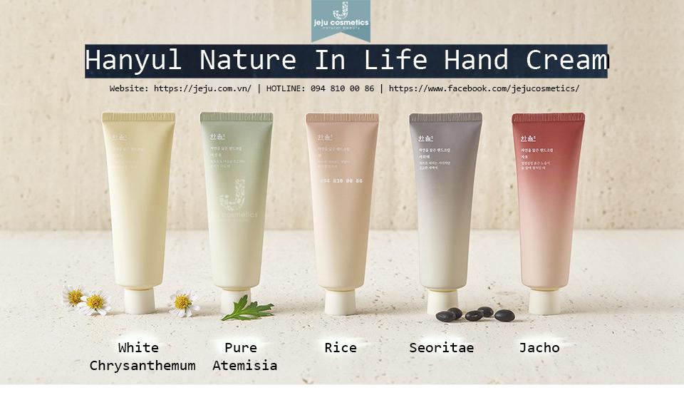 Hanyul Nature In Life Hand Cream