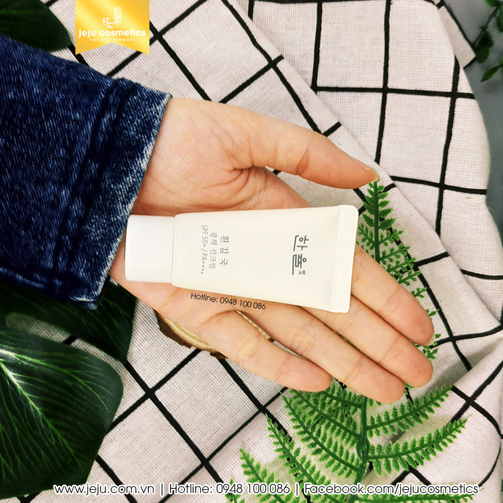 Hanyul White Chrysanthemum Radiance Sunscreen Cream 15ml
